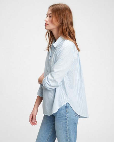 GAP Pleat Popover Shirt