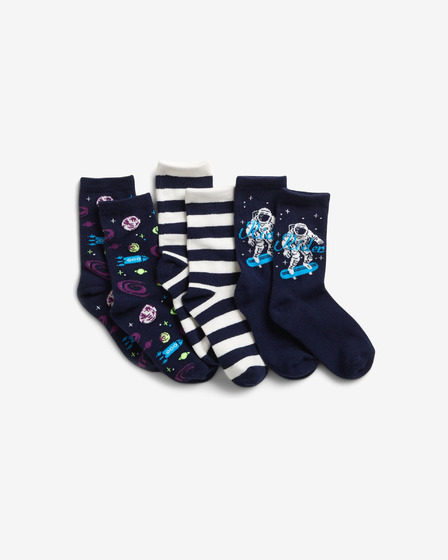 GAP Set of 3 pairs of kids socks
