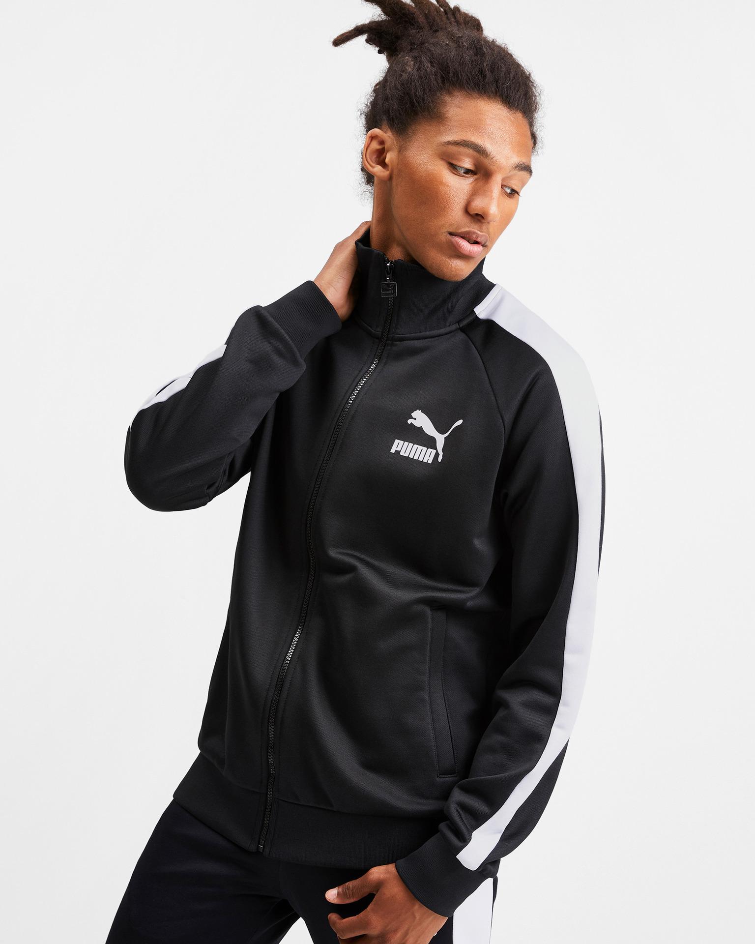 Puma - Iconic T7 Sweatshirt Bibloo.com