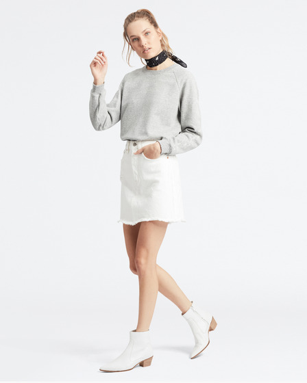Levi's® Deconstructed Iconic Boyfriend Skirt